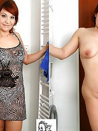 Dressed undressed, Mature dress, Mature dress undress, Undressing, Undressed, Undress