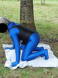 Spandex, Mature outdoor, Public mature, Outdoor mature, Mature public, Outdoors