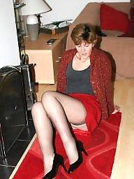 Mature amateur, Mature stocking, Uk mature