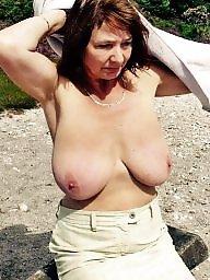 Natural boobs, Mature big boobs, Natural mature