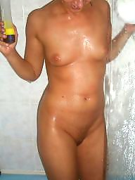 Small tits, Bed, Small, Milf amateur