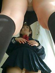Upskirt, Japan, Skirt, Upskirt panty, Up skirt, Asian amateur