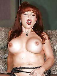 Redhead, Redhead mature, Mature tits, Mature redhead
