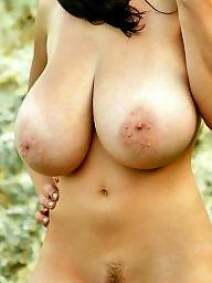 Public, Natural tits, Natural