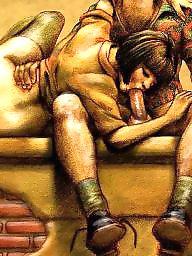 Art, Vintage mature, Vintage porn, Mature porn, Mature asses