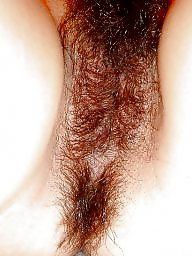 Hairy, Chinese, Asian pussy