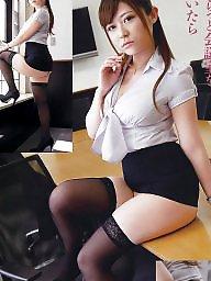 Thighs, Upskirts, Asian upskirt, Asian stockings, Asian stocking, Upskirt stockings