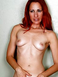 Redhead, Hot milf