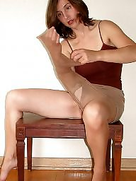 Older, Mature pantyhose, Mature stockings, Pantyhose mature, Strip, Mature strip
