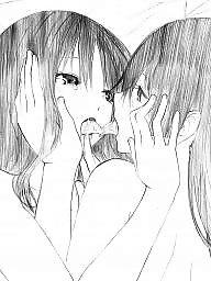 Lesbian cartoon, Cartoon, Lesbian cartoons, Manga, Cartoon lesbian, Naked