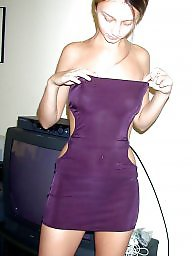 Dress, Flashing, Purple, Teen dress, Dressing