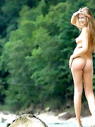Blonde teen, Nature, Natural