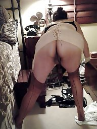 Girdle, Corset, Milf stockings, Vintage amateur, Milf stocking, Corsets