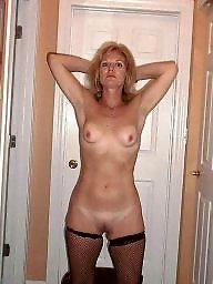Milf, Mature wife, Milf stocking