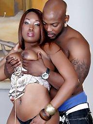 Ebony blowjob, Hardcore