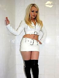 Pvc, Leather, Boots, Mature leather, Mature boots, Mature latex