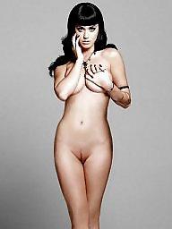 Brunette, Naked, Naked celebrity