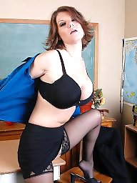 Teacher, Milf ass, Milf stockings, Stocking milf, Teachers