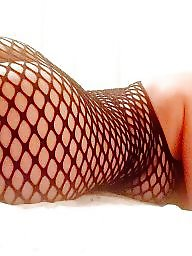 Sexy milf, Fishnet
