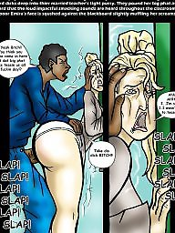 Interracial, Muslim, Bbc, Milf cartoon, Interracial cartoon, Cartoon interracial