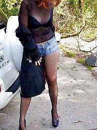 Nylons, Street, Nylon, Amateur nylon, Upskirt stockings, Nylon upskirt