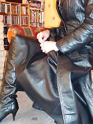 Boots, Leather, Latex, Pvc, Mature boots, Mature latex