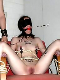 Bondage, Tied, Exposed, Sluts, Chair
