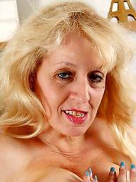 Mature bbw, Blonde mature