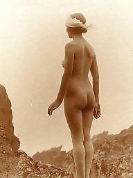 Vintage, Lady, Natural, Nature, Ladies, Vintage amateur