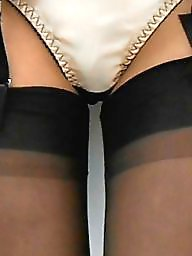 Upskirt, Flash, Upskirt stockings
