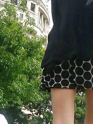 Skirt, Mini skirt, Skirts, Teen skirt, Spy cam, Spy