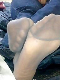 Nylon, Nylon feet, Turban, Nylons, Turbans