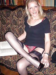 Vintage, Vintage mature, Mature in stockings, Leggy