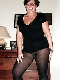 Mature stocking, Tit mature, Stocking mature, Mature wife
