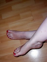 Feet, Stocking, Wife, Stockings, Milf stockings, Sexy
