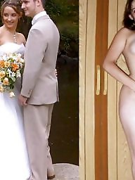 Bride, Dressed undressed, Dress, Undressing, Undressed, Dress undress