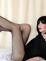 Pantyhose, Brunette amateur