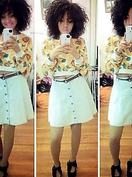Skirt, Shorts, Ebony teen, Short, Teen dress, Dresses