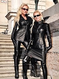 Latex, Boots, Leather, Pvc, Mature pvc, Mature latex