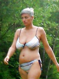 Mature bikini, Bikini, Busty, Busty mature, Bikini mature
