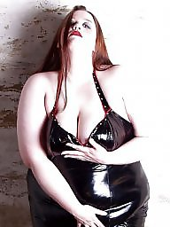 Strapon, Latex, Leather, Pvc, Mature femdom, Bbw femdom
