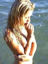Teen beach, Blonde teen, Beach teen