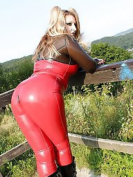 Leather, Strapon, Pvc, Latex, Mature femdom, Mature pvc