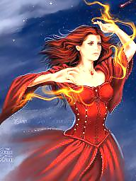 Redhead, Red, Cartoons