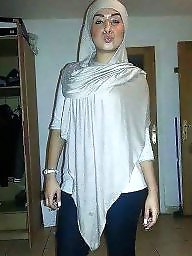 Brunette, Hijab porn