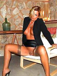 Milf stockings, Milf stocking, Amateur stockings
