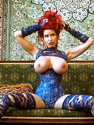 Boobs, Lace, Blue
