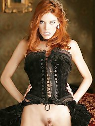 Corset, Big boobs, Stockings, Corsets