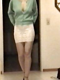 Skirt, Lace, Tights, Tight, Slutty, White