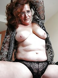 Granny, Granny boobs, Stockings, Granny stockings, Big granny, Mature stocking